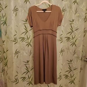 Attention Brown Dress, women's  large